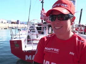 IV (ES/GAL) MAPFRE Echegoyen before Leg2 start