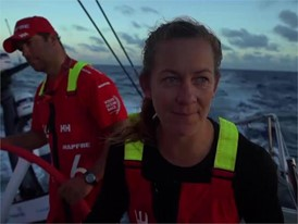 NOV 15_MAPFRE_Sophie Ciszek talks chasing down leaders Dongfeng Race Team