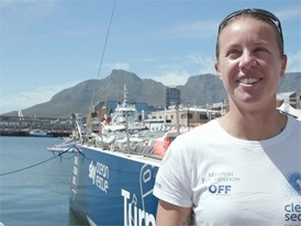 IV IT TTT Francesca Clapcich Cape Town Stopover 04 Dec