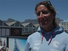 IV EN TTT Dee Caffari ahead of Leg 3 Cape Town to Melbourne