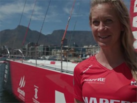 IV EN MPF Sophie Ciszek ahead of Leg 3 Cape Town to Melbourne