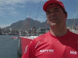 IV ES MPF Pablo Arrarte ahead of Leg 3 Cape Town to Melbourne