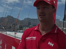 IV EN MPF Louis Sinclair ahead of Leg 3 Cape Town to Melbourne