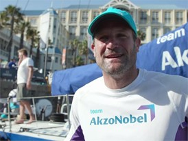 IV NL AZN Tienpont ahead of Leg 3 start