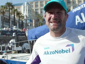 IV EN AZN Tienpont ahead of Leg 3 start Cape Town to Melbournepe