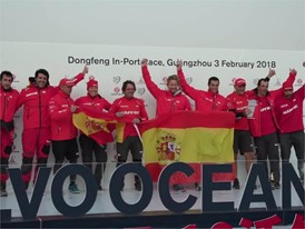 VNR In-Port Race MAPFRE claims top spot in Guangzhou - China