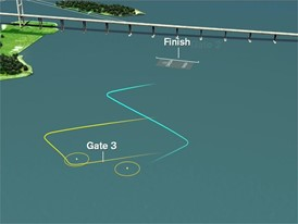 Animation of Dongfeng In-Port Race Guangzhou v2