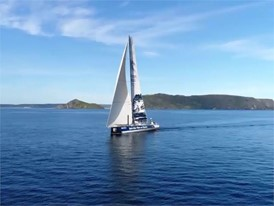 TTTOP sails past Cape Reinga NZL 27 Feb