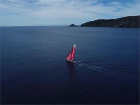 DFG Drone - approaching NZ 27 Feb end of Leg 6