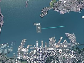 Auckland Inport Race Course Graphic