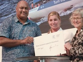 New Zealand Signs the Clean Seas pledge