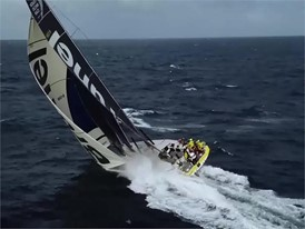 BNL drone and big sailing 23 Mar in the Southern Ocean