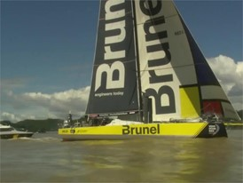 VNR - Team Brunel hold on to win toughest stage of Volvo Ocean Race