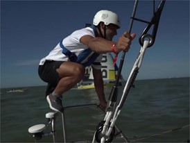 IV and jump PT DFG Flavio Reitz leg jumper Leg 8 start