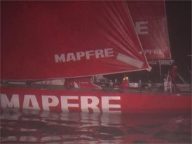 VNR ES IV arrival Leg 8 MAPFRE winning - Spanish version