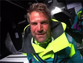 IV EN-NL AZN Tienpont VO65 24hr distance record 24 May Leg 9