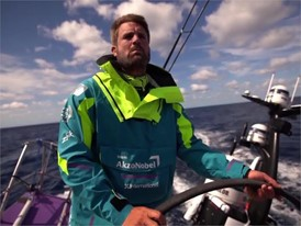 IV NL AZN Tienpont breaking overall 24hr distance record 25 May Leg 9