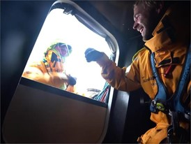 AZN crew reaction to breaking overall 24hr distance record 25 May Leg 9