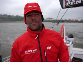 IV ES MPF Arrarte Leg 9 arrival 5th place, Cardiff 29 May