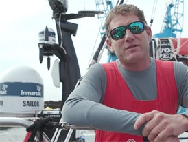 IV FR DG Caudrelier after winning In-Port Race Cardiff 08 June