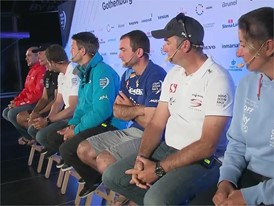Pre-Leg 11 Skippers Press conference