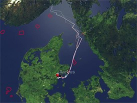 Tracker animation 23 Jun, after Aarhus, Leg 11 Quick Fix