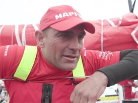 MPF ES Xabi Fernández Interview Spanish - Arrivals Leg 11