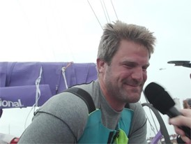 AZN NL Simeon Tienpont Interview Dutch - Arrivals leg 11