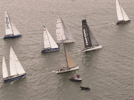 Legends race start, Gothenburg to The Hague, 21 June