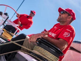 Leg Zero: Rolex Fastnet Race - Interview with Mapfre's Xabi Fernández as preparation is underway for the Rolex Fastnet Race (ESP)