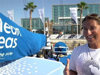 Pre-Leg 1 start interviews with Turn the Tide on Plastic (ENG, ITA, SWE)