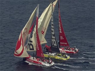 VNR: Intensity and action at the highest level as the Volvo Ocean Race fleet takes the Leg 1 start