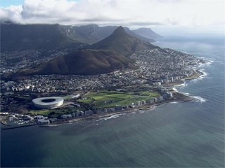 VNR: Cape Town Race Village opening and AERIALS of the city