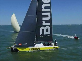 The Hague In-Port Race - Team Brunel wins the Brunel In-Port Race in The Hague