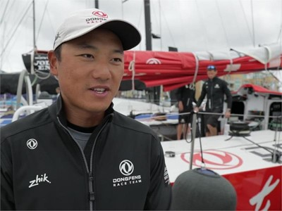Leg Zero: Rolex Fastnet Race - Interview with Dongfeng's Chen Jinhao 'Horace' as preparation is unde