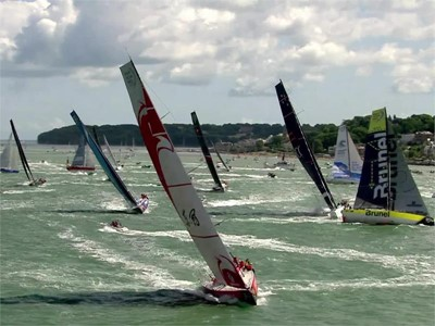 VNR Alert: Volvo Ocean Race - Rolex Fastnet Race finish - International languages