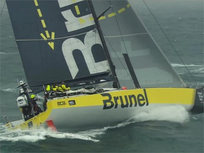 Web-ready edit: Leg Zero - Peter Burling joins Team Brunel