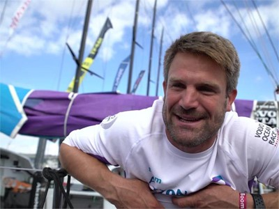 Pre-Leg 1 start interviews with AkzoNobel (ENG, NED, POR, DEN)