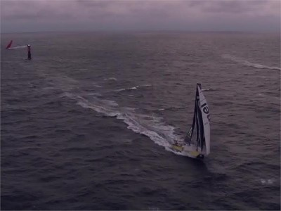 Leg 10 final day and arrival in Gothenburg - Team Brunel wins. 14 June