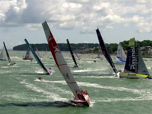 Leg Zero: Rolex Fastnet Race 2017 - Finish: International_Feed_B-roll