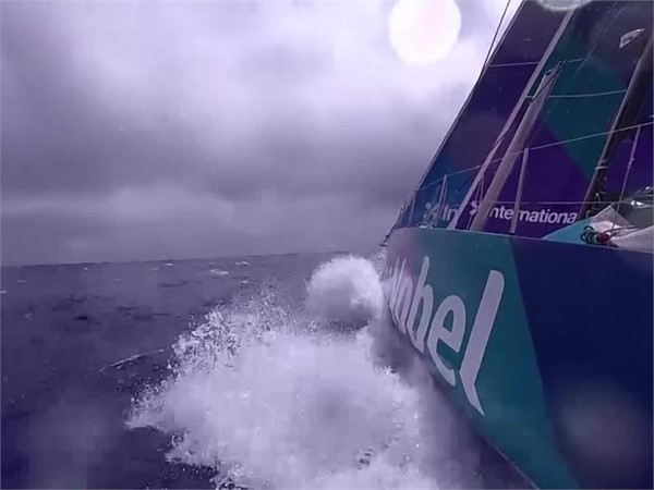 VNR 15 Feb - The next transition offers opportunity and jeopardy for Volvo Ocean Race fleet
