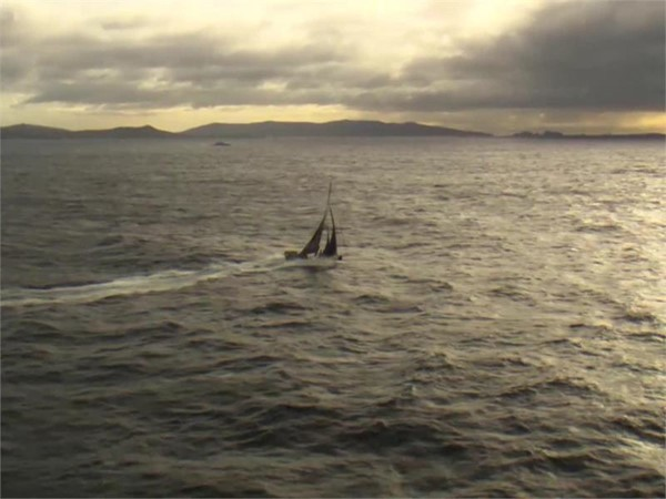 VNR - Team Brunel leads fleet past Cape Horn and out of the Southern Ocean