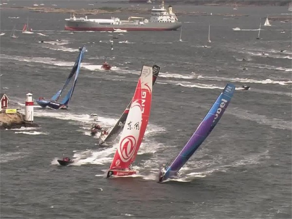 VNR Leg 11 start: Early advantage to Dongfeng Race Team on critical final leg of Volvo Ocean Race