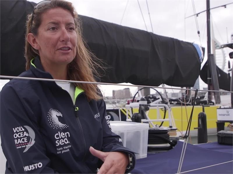 Interviews with Volvo Ocean Race British sailors as preparation is ...