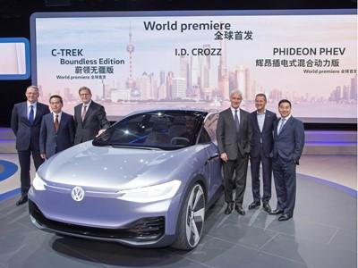 World Premiere in Shanghai: VW I.D. CROZZ