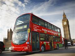 Volvo Hybrid Double Deck Buses Unveiled at Historic Venue in London - New Video Available