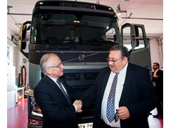 eBay Auction Winner Drives Home the First Volvo FH