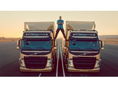 Jean-Claude Van Damme and Volvo Trucks Perform World-First Stunt