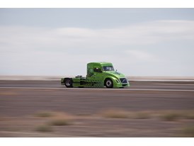 New World Speed Records for Volvo Hybrid Truck