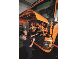 New Volvo FH - shake test
